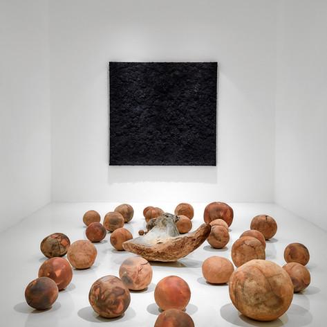 Las Tinieblas Sobre la Faz de la Tierra, Galería Hilario Galguera, México City, México, 2019