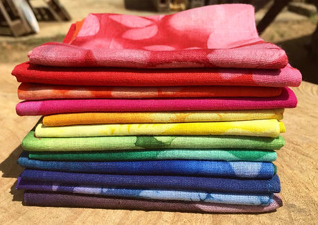 100% cotton fabrics by Roots Seychelles