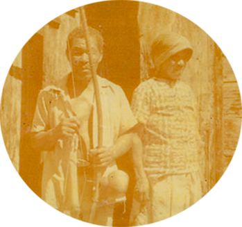 Mama Lucie and Papa Frer our ancestors and inspiration for the Roots