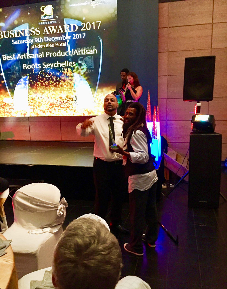 Roots Seychelles Wins Artisan of the Year Award