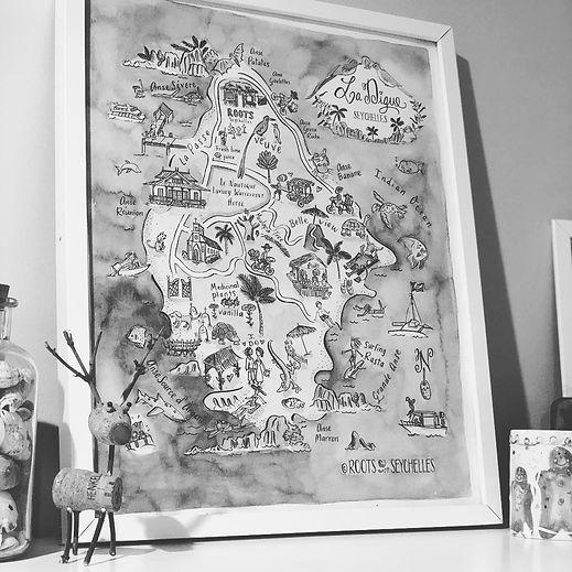 Le Nautique holiay map