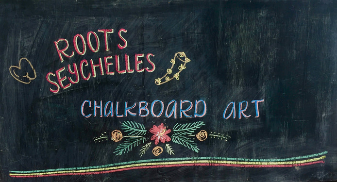 This is our Roots Chalkboard
