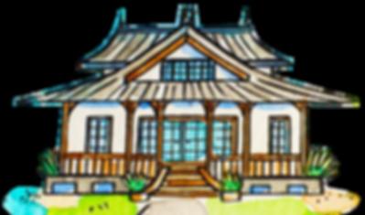Illustrated Kreol house