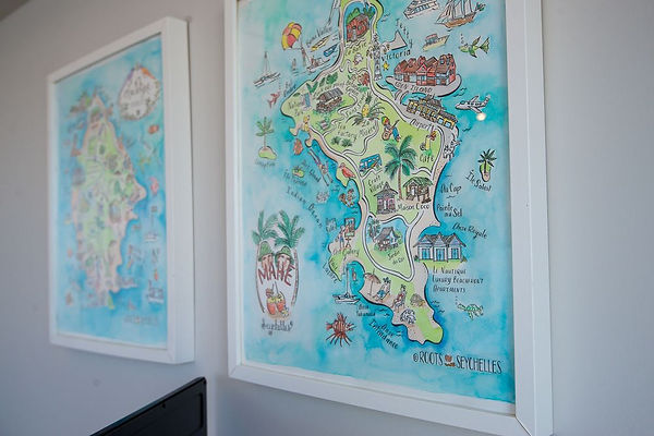 Seychelles Maps at Le Nautique