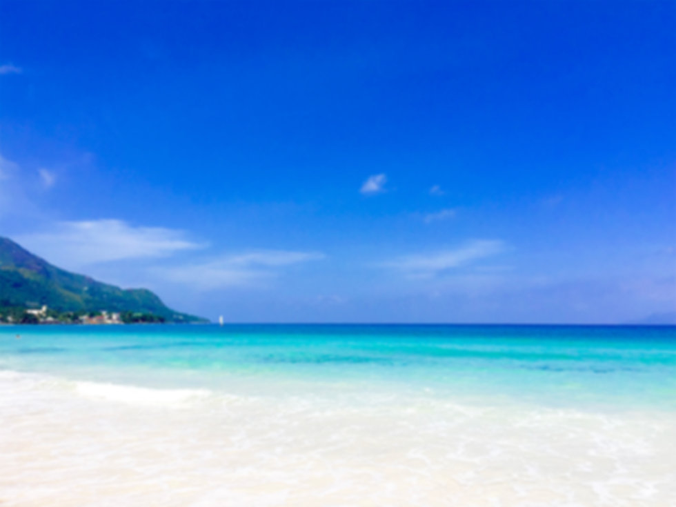 Beau Vallon Beach Mahe Seychelles