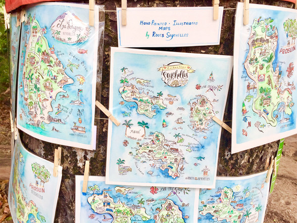Maps of the Seychelles by Roots Seychelles