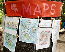 Our map gallery on La Digue