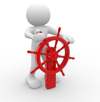 羅針盤の操作画像