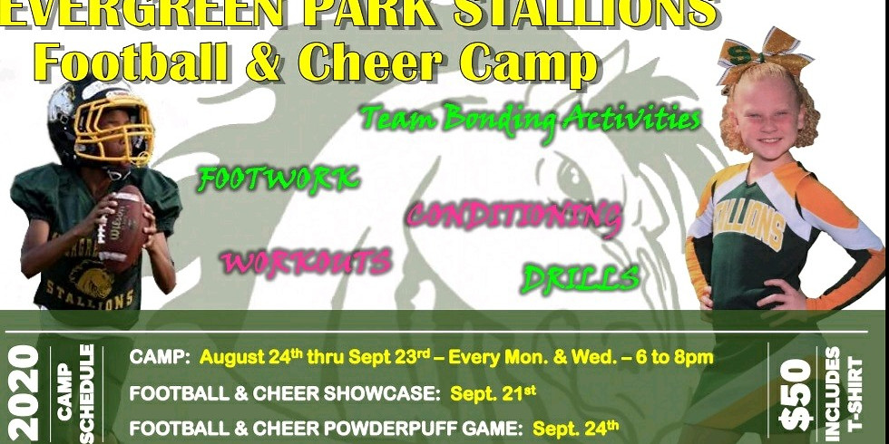 EP Stallions Football &Cheer Camp 2020
