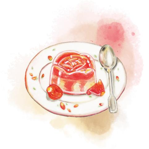 玫瑰花啫喱