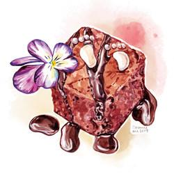 紅絲絨立方蛋糕
