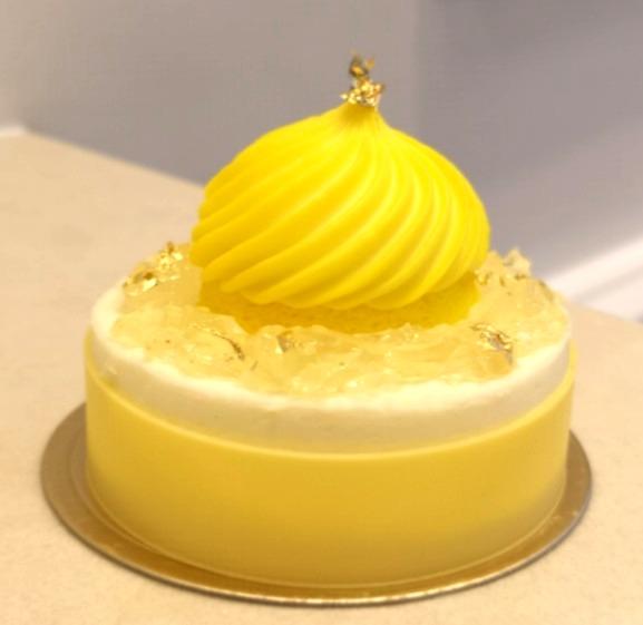 柚子雪芳蛋糕