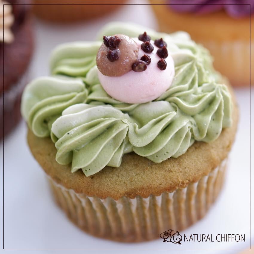 綠茶杯子蛋糕