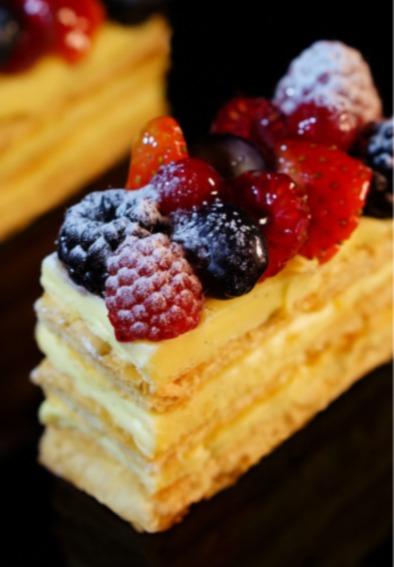 雜莓拿破崙蛋糕