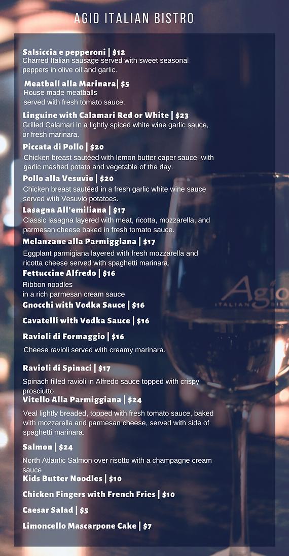 Copy of Agio Italian Bistro menu final (