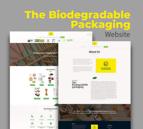 The Biodegradable Packaging - website
