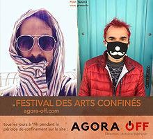Affiche Festival des Arts confinéspg