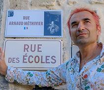 Inauguration rue Arnaud METHIVIER Junas