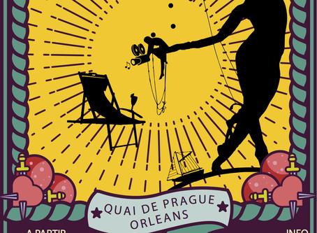 Une Paillote artistique au bord de Loire à Orléans à partir du 24 juillet.
