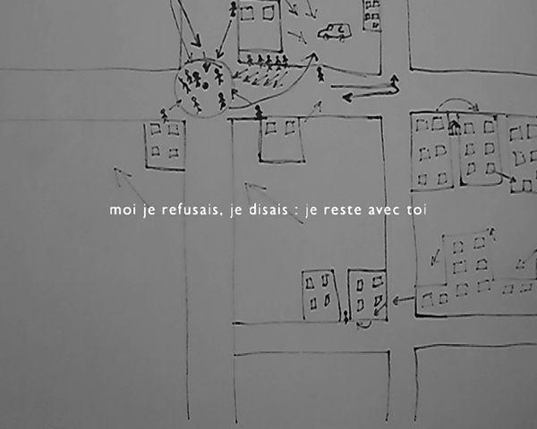 Vidéo de Till Roeskens «Vidéocartographies : Aïda, Palestine», 2009 Courtesy de l'artiste