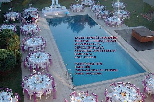 Davet Mönüsü 2 Düğün ,Nişan,Sünnet