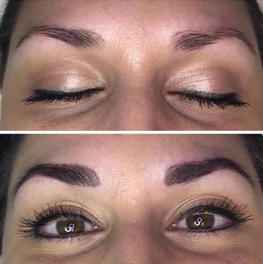 henna brows Ashley