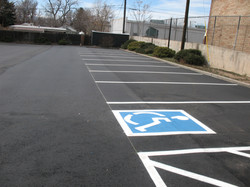 Handicap striping