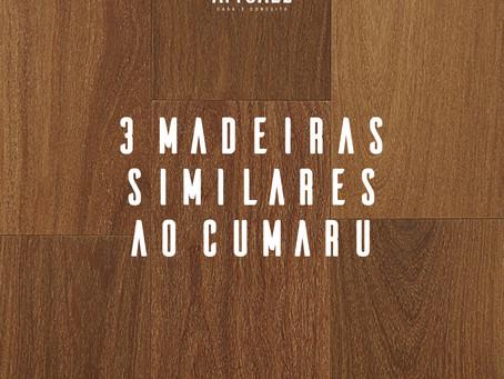 Madeira para pisos e revestimentos: 3 opções para substituir o Cumaru