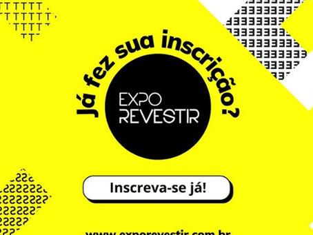 Expo Revestir 2021 será online e inicia no próximo dia 22 de março.