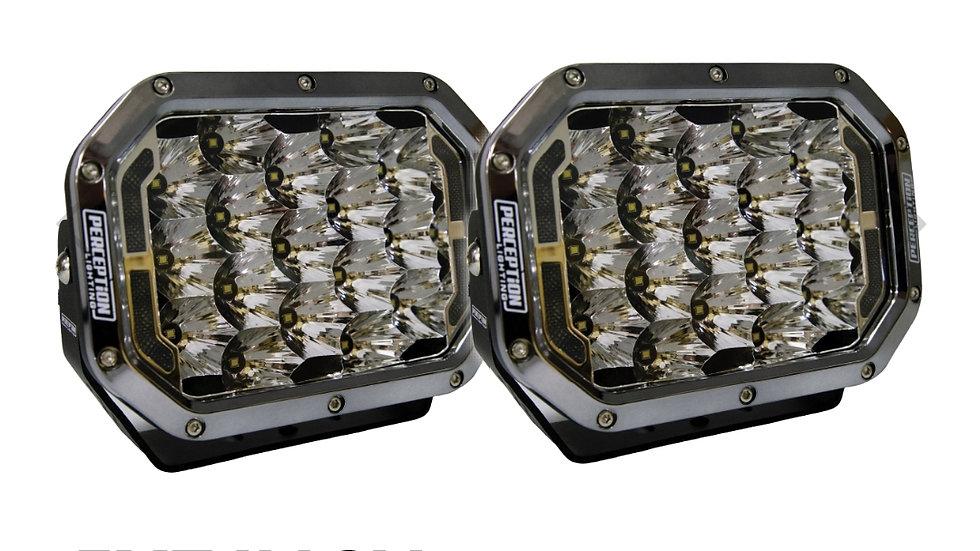 "Platinum Series 5 X 7"" LED Driving Lights w/DRL (Pair)"