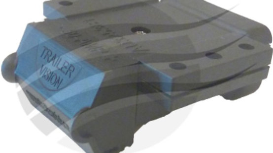BLACK COVER ASSEMBLY TO SUIT ANDERSON CONNECTOR H/D 50A