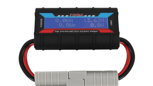 Watt Meter Power Analyser w/ Anderson Plugs