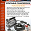 Thumbnail: AIR COMPRESSOR KIT 150PSI 12v 72L / MINUTE WITH CARRY BAG