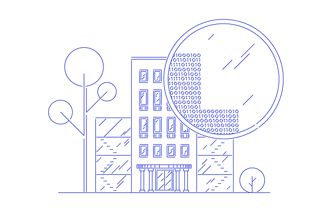 Data embassy illustration blue_Ingel Martin - Estonian Design Team.png