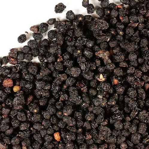 """Organic Dried Elderberries """"Sambucus Nigra"""""""