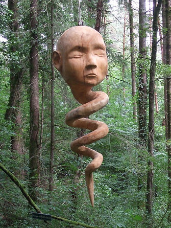 Sculture Chemin Art Nature