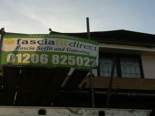 Soffit and Fascia installation Colchester Essex