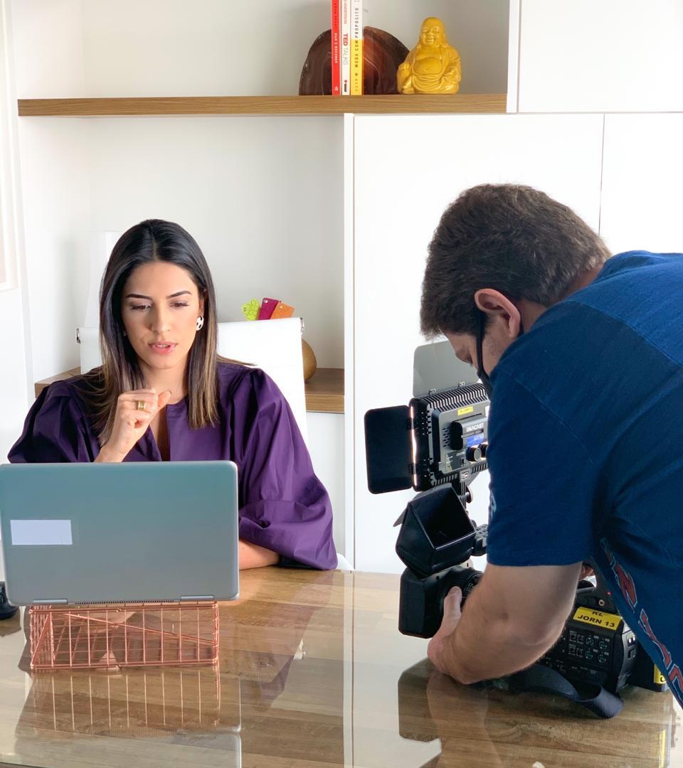 Entrevista Bom dia São Paulo - Rede Globo