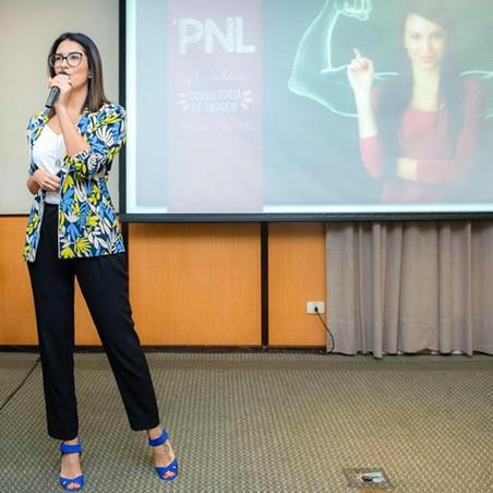 Palestra sobre PNL Aplicada à Consultoria de Imagem