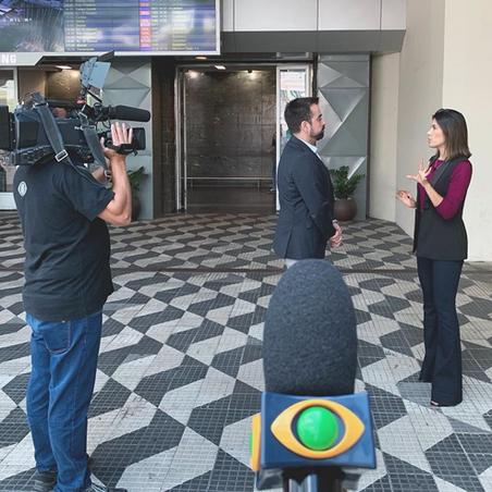 Entrevista Jornal da Band