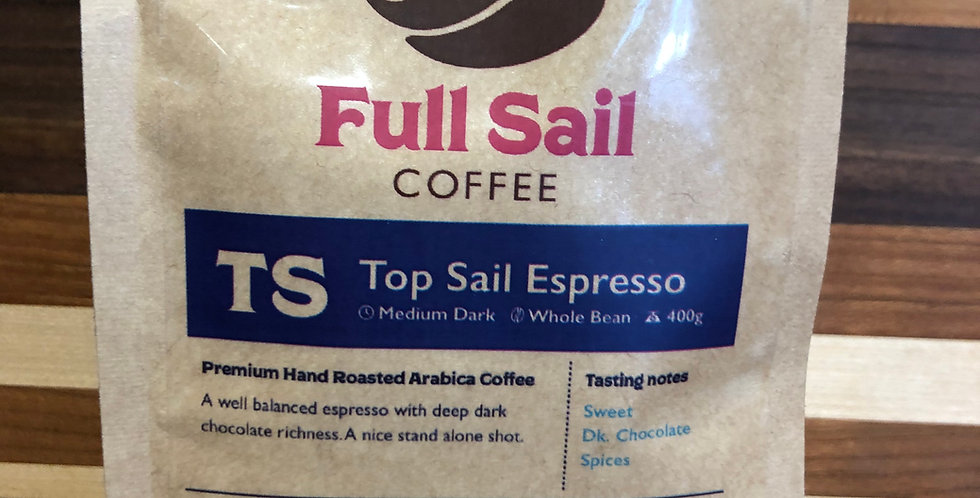 Full Sail Coffee: Espresso(Beans)(400g)