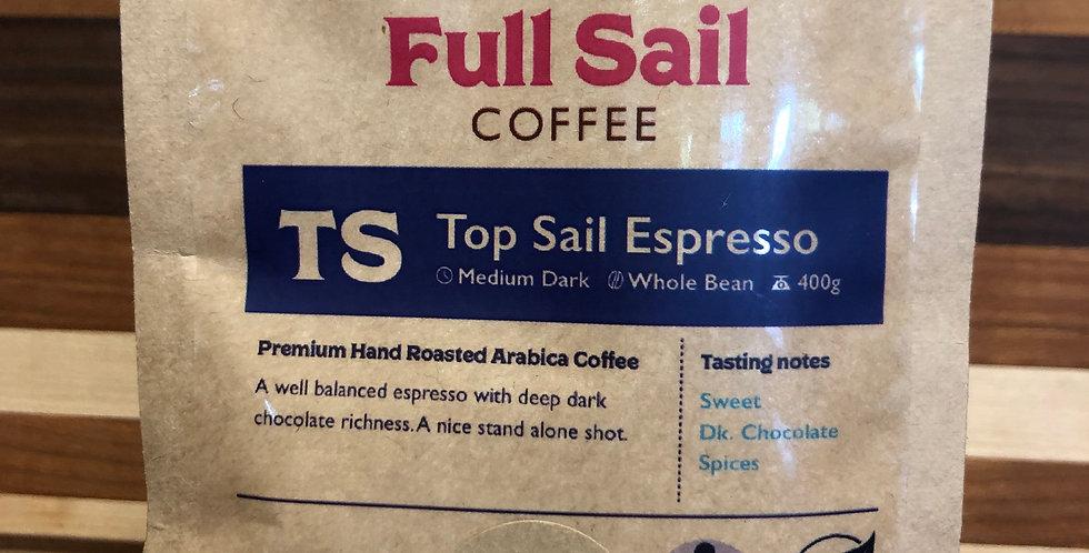 Full Sail Coffee: Espresso(Ground)(400g)