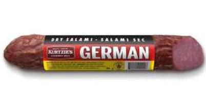 Kurtzie's Dried Salami: German