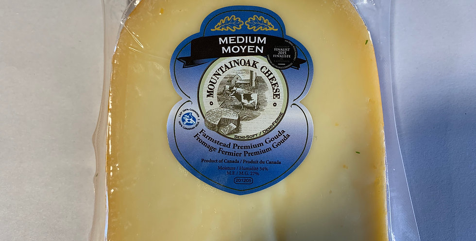 Mountainoak Cheese - Medium Gouda