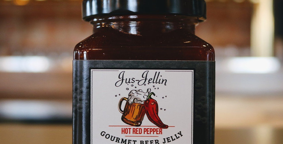 The Publication House Hot Red Pepper Beer Jelly