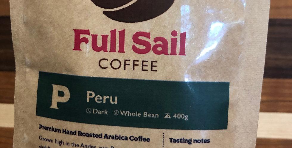 Full Sail Coffee: Peru(Ground)(400g)