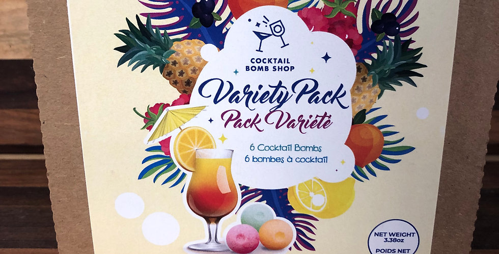 Cocktail Bombs(Variety) 6 pack