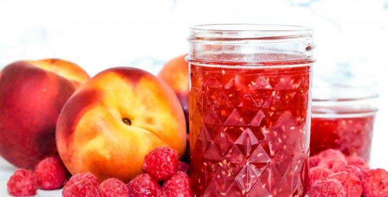 Brooks Farms Peach/Raspberry Jam(500ml)