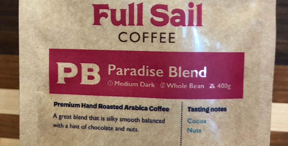 Full Sail Coffee: Paradise Blend(Ground)(400g)