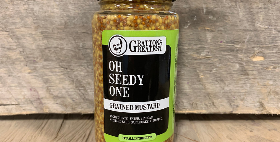 Gratton's Greatest Oh Seedy One Grained Mustard
